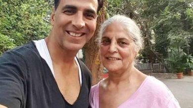 Akshay Kumar mom died