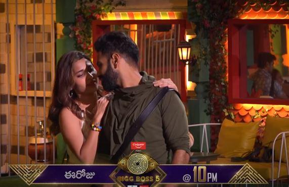 Bigg Boss 5 Telugu: Hamida, Singer Sriram Dance For A Romantic Song